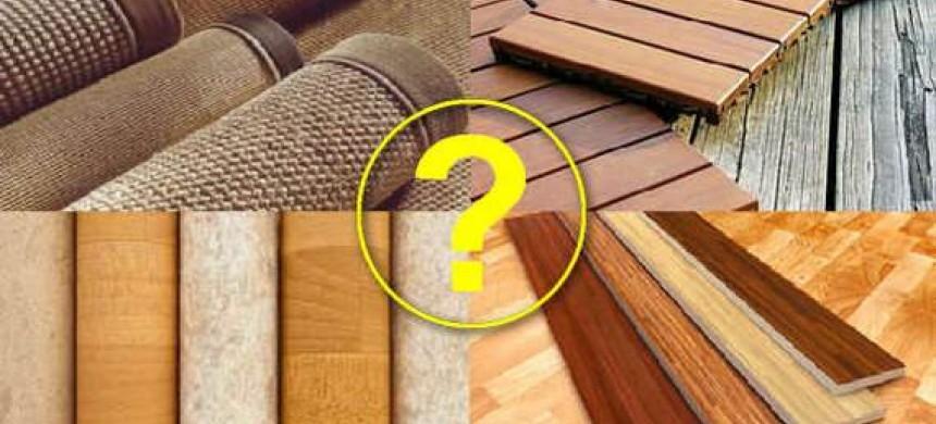 Сучасні підлогові покриття